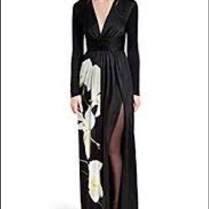 Altuzarra by Target satin maxi dress